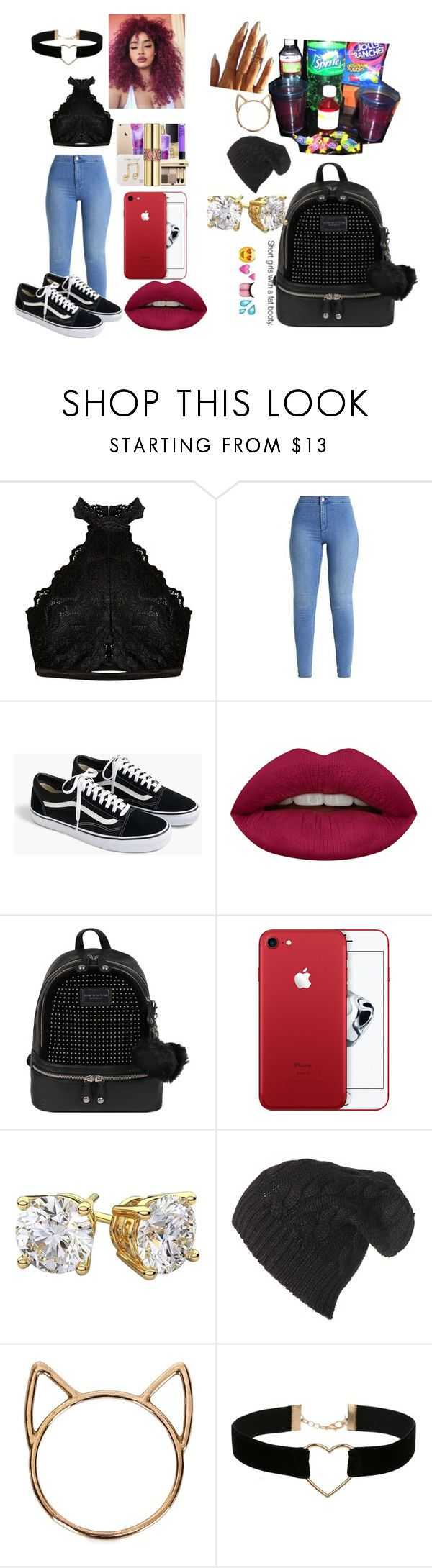 """""""Untitled #15"""" by crazy-goddess ❤ liked on Polyvore featuring J.Crew, Huda Beauty, Andrew Marc, Black, Catbird and Miss Selfridge"""