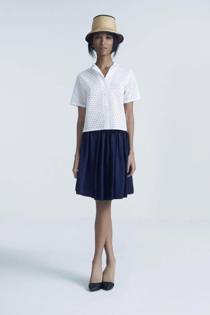 Steffi Cloche Hat, Carolin Shirt and Bellini Skirt | Samuji Pre-Fall 2014 Collection
