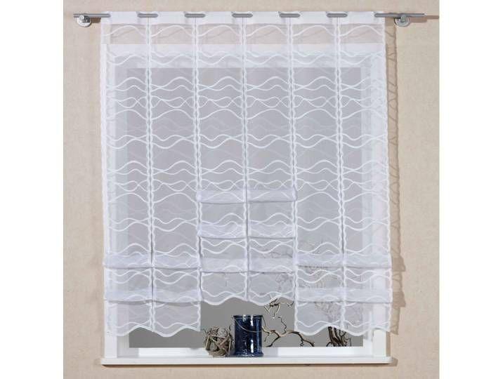 Vhg Scheibengardine Bella Weiss Transparenter Stoff Curtains Childrens Room Cool Curtains Curtains