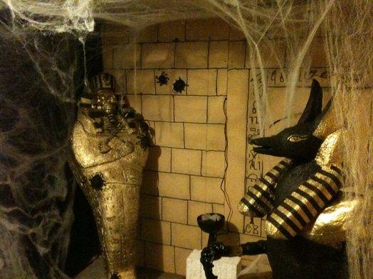 Hey, it looks like my haunted garage---only way better.