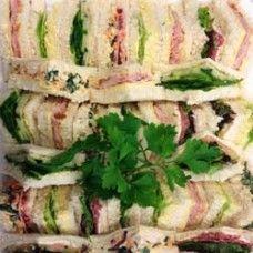 Sandwich platters (sandwich quarters)