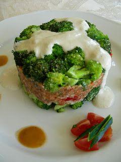 Sajtszószos rakott brokkoli ~ Nyers konyha