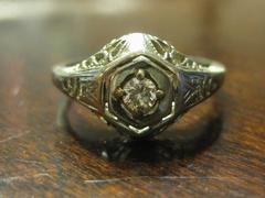 1920s wedding ring