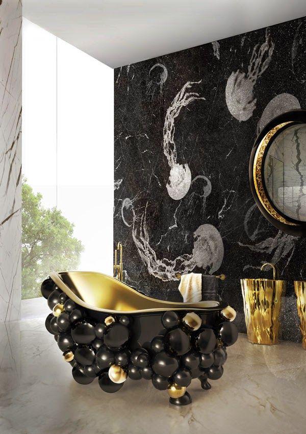 Brilhos da Moda: Design de Luxo para Casa de Banho