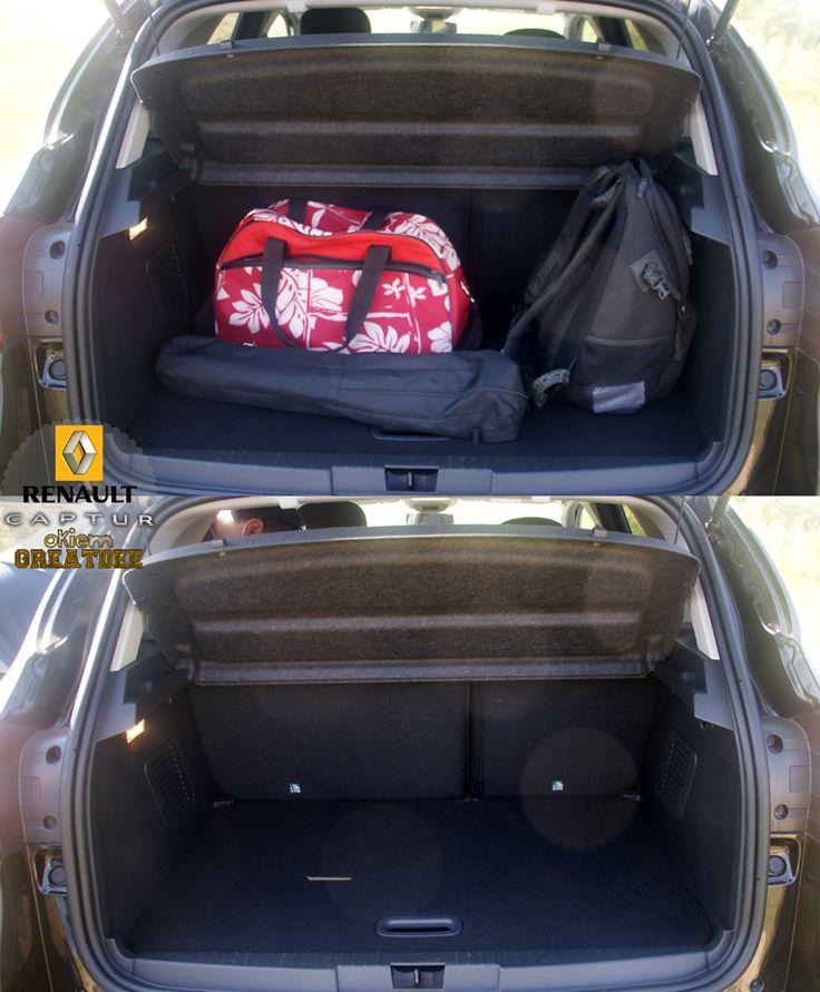 pojemny bagażnik #kampaniaRenaultCaptur