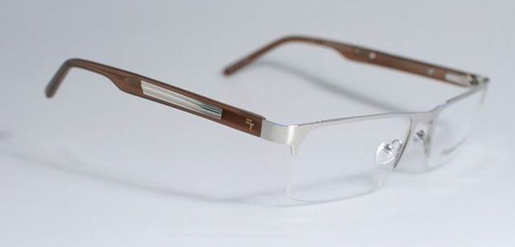 Preferred Stock Equity Mens Brown Extra Large Eyeglasses FB-00195 #FatheadzPreferredStock #HalfRimless