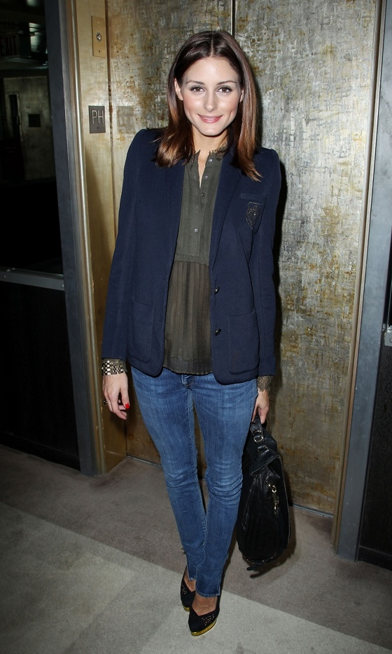 Olivia Palermo Puts Together A Perfect Casual Look For The Buried Film Screening, September 2010