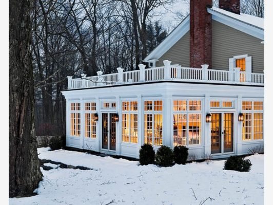 Sunroom Design - Home and Garden Design Idea's
