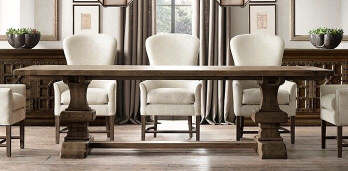 All Rectangular Tables Restoration Hardware I love the look of