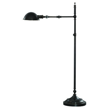 ant bee swing arm pharmacy floor lamp by robert abbey. Black Bedroom Furniture Sets. Home Design Ideas