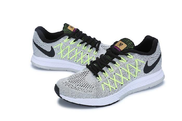 Nike Lunar 32 Herre Sko Lys Grå Grønn Svart