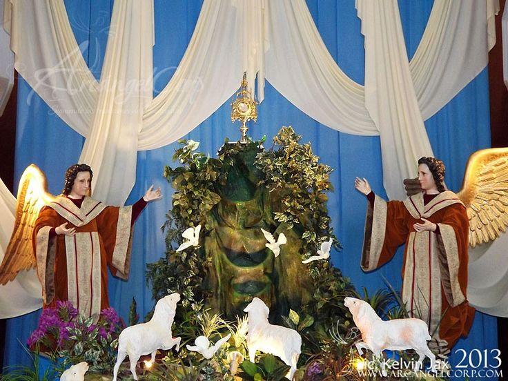 Resultado de imagen para altares de iglesia cuaresma guatemala