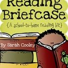 A reading briefcase is simply a poly folder (or bag) that holds any reading materials that need to travel home with students everyday for additiona...
