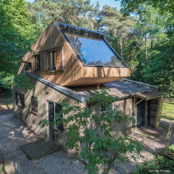 A Little House In The Forest Undergoes A Green Transformation.   See More  At: