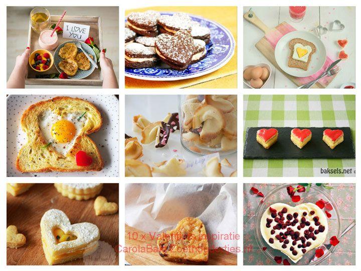 10 x Valentijns zoete- en ontbijtinspiratie