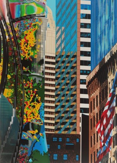 Manhattan by Brendan Neiland