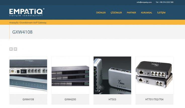 Empatiq Telekom Kontrol Panelli Web Sitesi - Ürün Detay Sayfası - Silüet Tanıtım Web Tasarım
