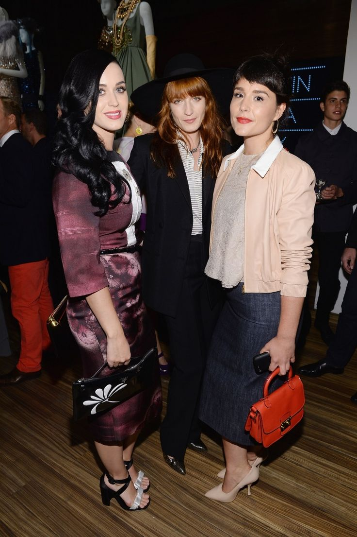Katy Perry, Florence Welch And Jessie Ware | GRAMMY.comPrada Dresses, Dresses Gatsby, Photos Gallery, Jessie Ware, Katy Perry, Catherine Martin, Miuccia Prada, Cocktails Parties, Florence Welch