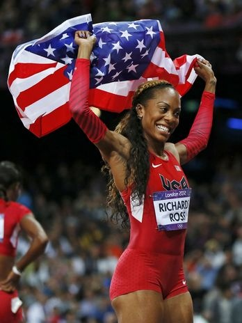 Sanya Richards-Ross (USA) - atletismo  Foto: Reuters