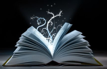 Books are magic, so let the magic out!