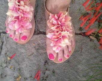 Lederen handgemaakte sandalen door Marmade van MyMarmade op Etsy