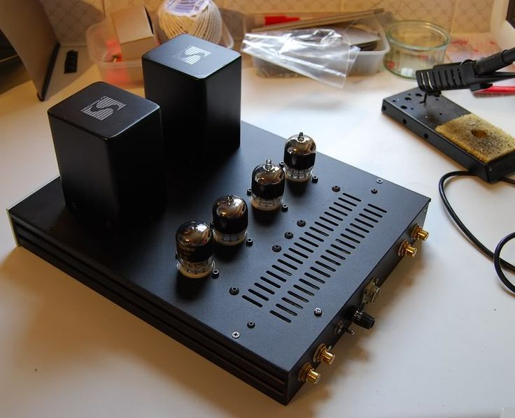 LCR phono stage