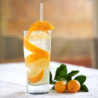 Orange Blossom Gin & Tonic - Cocktails & Drinks Recipes