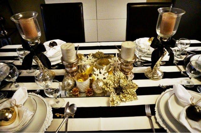 Minhas mesas postas para o natal