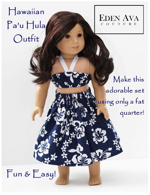 Quick and Easy Luau Dress for Kanani