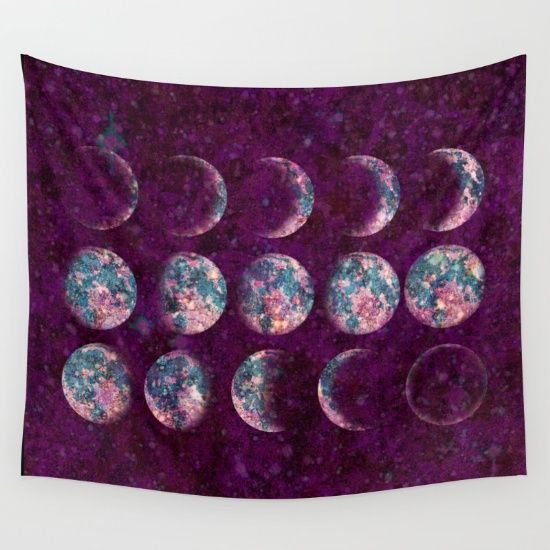 Celestial Moons Wall Tapestry by Bohemian Gypsy Jane. Worldwide shipping available at Society6.com. Just one of millions of high quality products available.