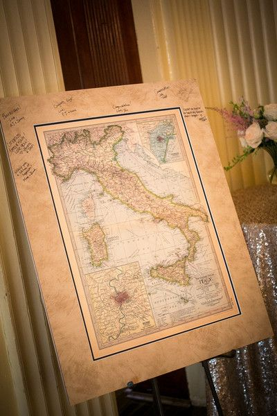 Upscale Baltimore Banquet Wedding Guestbook Unique