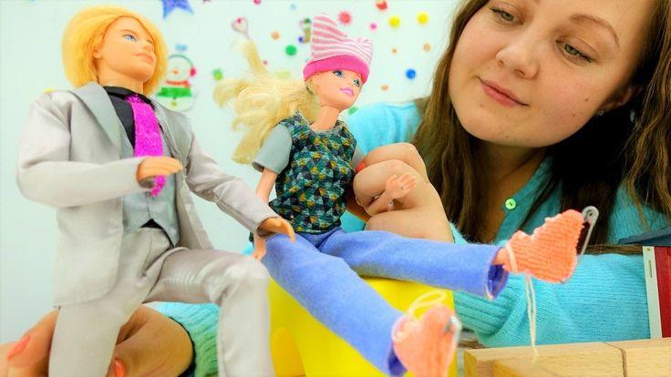 Игры для девочек: Кен и #Барби #подарок своими руками. Поделки и игрушки...
