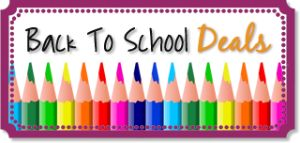 Save BIG with these Back-to-School Clothing & School Supply Deals at TheFrugalGirls.com #school #supplies
