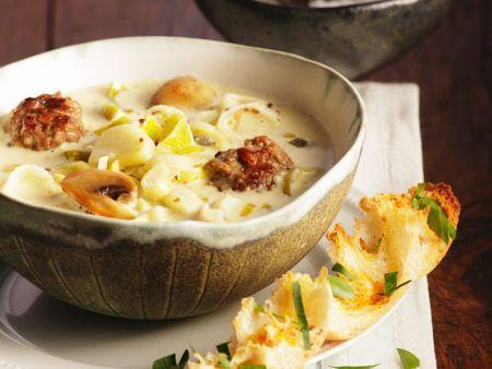 1000+ ideaa Rezept Lauchsuppe Pinterestissä Lauchsuppe mit - käse lauch suppe chefkoch