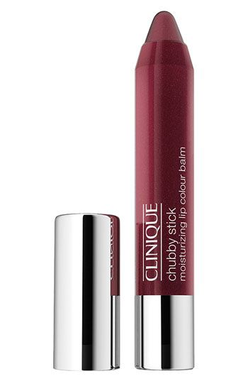 Clinique Chubby Stick - I recommend this stuff, it's instant pigment/color for your lips but doesn't feel like you're wearing anything. :)