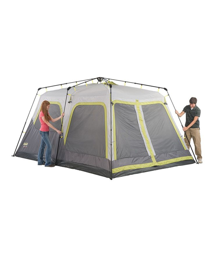 14u0027 x 10u0027 Instant Tent by Coleman  sc 1 st  Pinterest & Best 25+ Instant tent ideas on Pinterest | Waterproof tent Tent ...