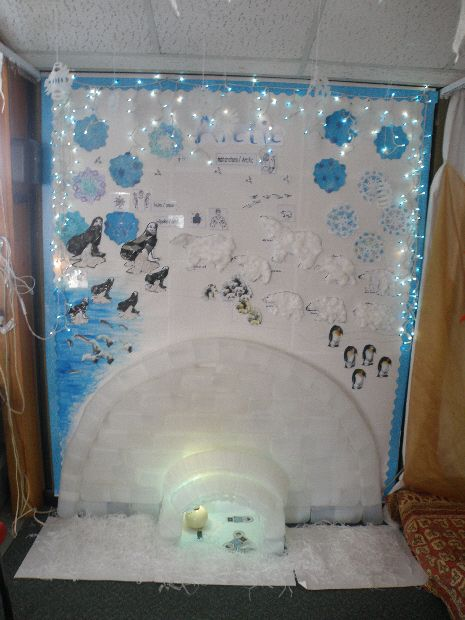 The Arctic classroom display photo - Photo gallery - SparkleBox