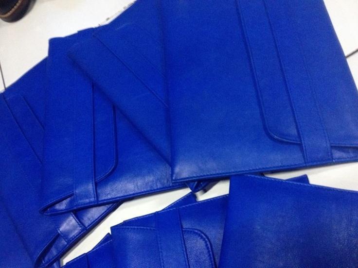 B O B B Y Cobalt Blue Antique Leather IPad Case AVAILABLE SOON WWW.IMPERIALHYDE.COM.AU