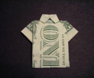 How to Fold a Dollar Bill Shirt