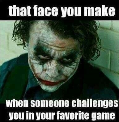 Share if this the face you make when someone challenges you in online rummy games.