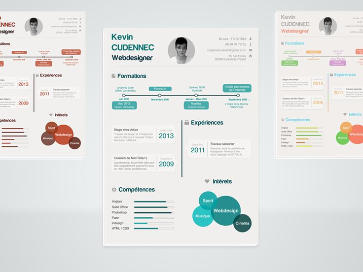 38 best Résumé images on Pinterest - infographic resume creator