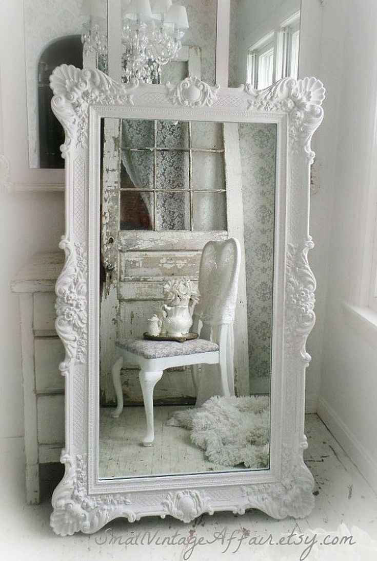 die besten 25 shabby chic spiegel ideen auf pinterest shabby chic rahmen shabby chic wei. Black Bedroom Furniture Sets. Home Design Ideas