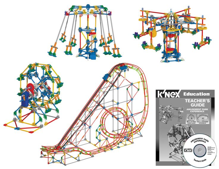 The K'NEX® Education Amusement Park Experience Set provides an opportunity to combine real-world applications with STEM concepts in a middle school classroom environment. Using these materials, studen
