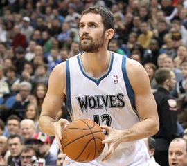 Kevin Love. Even though I'm a Lakers & USC fan, I have to admit he's pretty attractive.