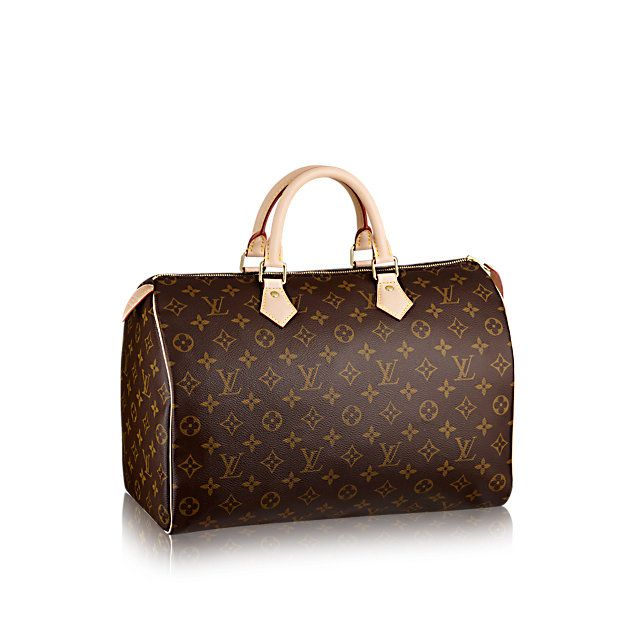 Speedy 35 Monogram Canvas - Handbags | LOUIS VUITTON