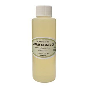 4 Oz Organic Cherry Kernel Oil by Dr Adorable. $3.90. Keep the skin moist and wrinkle free.. Prevents skin disorders such as acne and eczema. It reduces skin inflammation and helps in curing several skin disorders such as eczema and psoriasis.. Usage Rate: 1-100%. Organic Cold Pressed Cherry Kernel OIL, Pure, Great in soaps, creams, lotions and for massage.. Sweet cherry kernel oil is a stable, emollient oil, high in oleic acid, vitamin A and natural tocopherols. It is similar ...