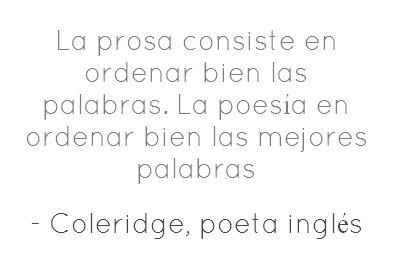 Poesia y Prosa