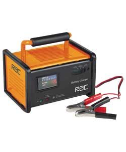 RAC 12V Automatic Car Battery Charger.