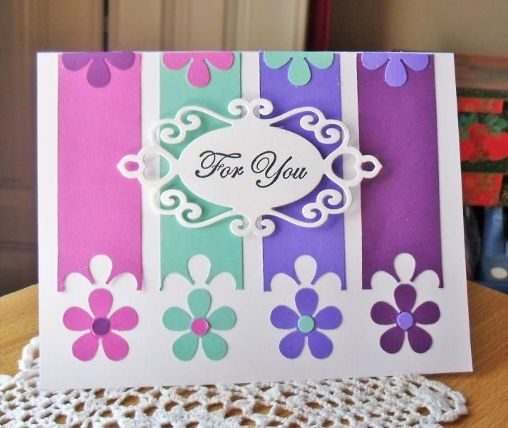 For you flowers Card