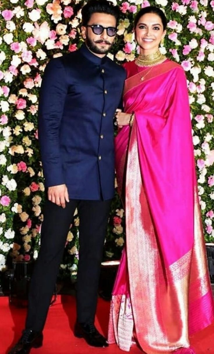 DeepVeer look absolutely adorable at the reception ...